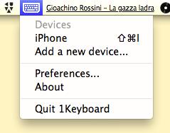 1Keyboard:将Mac变为iPhone的专属键盘插图(2)