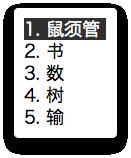 鼠鬚管 Squirrel:Mac中文输入法新选择插图