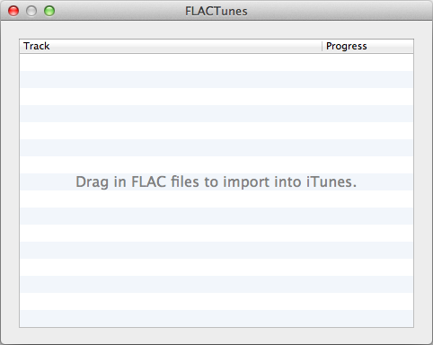 FLACTunes:FLAC Converter for iTunes