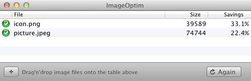 ImageOptim:PNG/JPEG/GIF图片压缩必备