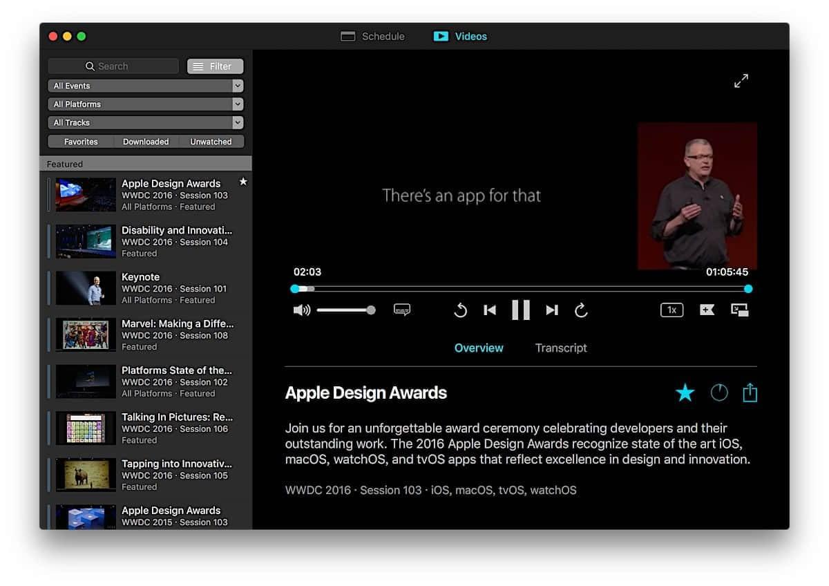 WWDC for macOS:足不出户轻松走遍 WWDC 全程插图