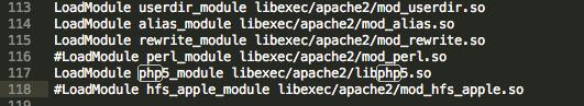 怎样开启OS X ML中的PHP环境插图