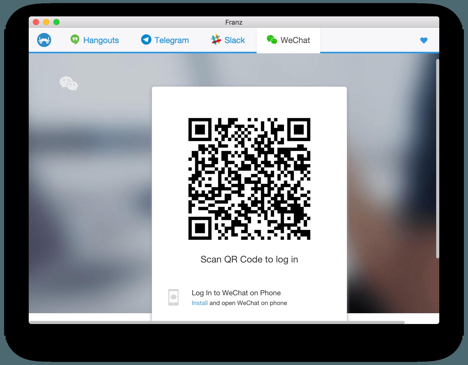 Franz:集合微信、Slack、Telegram 等服务的桌面社交客户端插图2