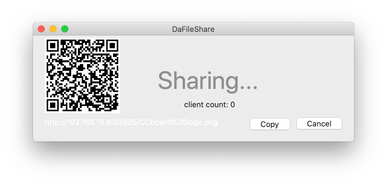 DaFileShare:Mac to Phone 超快文件分享工具插图